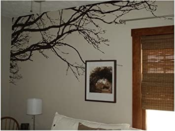 Vinyl Black Tree Top Branches Wall Decal Tree Branch Wall Stickers For Tree  Wall Decor Part 33