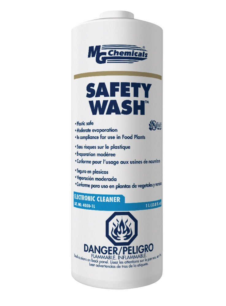 MG Chemicals Safety Wash Electronics Liquid Cleaner, 1 Liter Bottle by MG Chemicals (Image #1)