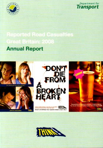 Reported Road Casualties Great Britain 2008: Annual Report