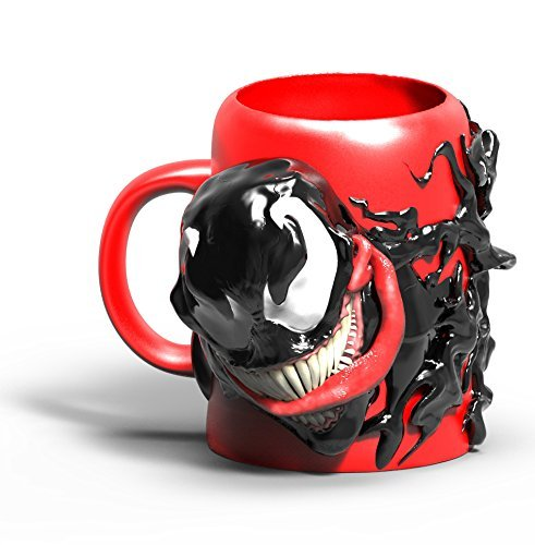 Marvel Venom 3-D Ceramic Sculpted Mug, 24 Ounces