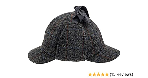 351a86da60e Sterkowski Harris Tweed Deerstalker Sherlock Cap at Amazon Men s Clothing  store