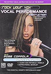 Rock Your Vox Vocal Performance Instruction (DVD & 2 CDs)