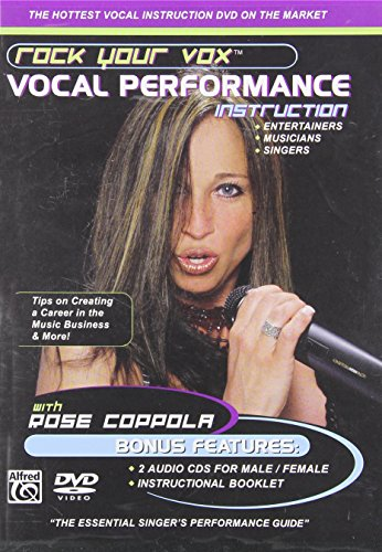 Rock Your Vox Vocal Performance Instruction (DVD & 2 CDs) by Alfred