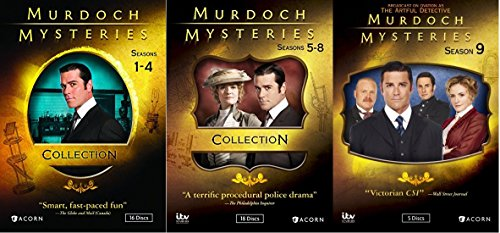 Murdoch Mysteries Ultimate Collection Seasons 1-9