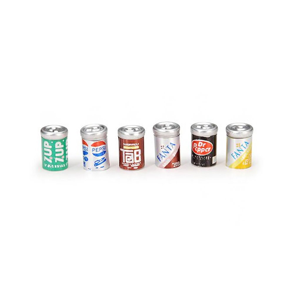 Darice 2306-19x144 Timeless Minis, 0.3125'' x 0.5'', 18'' Height, 18'' Width, 18'' Length, Assorted Soda Cans (Pack of 144)