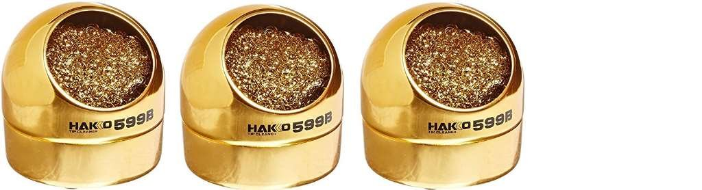 Hakko 599B-02 Wire-type soldering iron tip cleaner 4 PACK