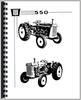 Oliver 550 Tractor Parts Manual: 6301147747365: Amazon.com: Books on
