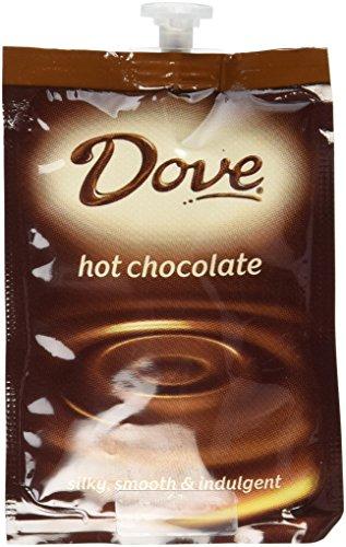 Milk Smooth Chocolate Dove - Flavia Dove Hot Chocolate Fresh Packs 18 Pack