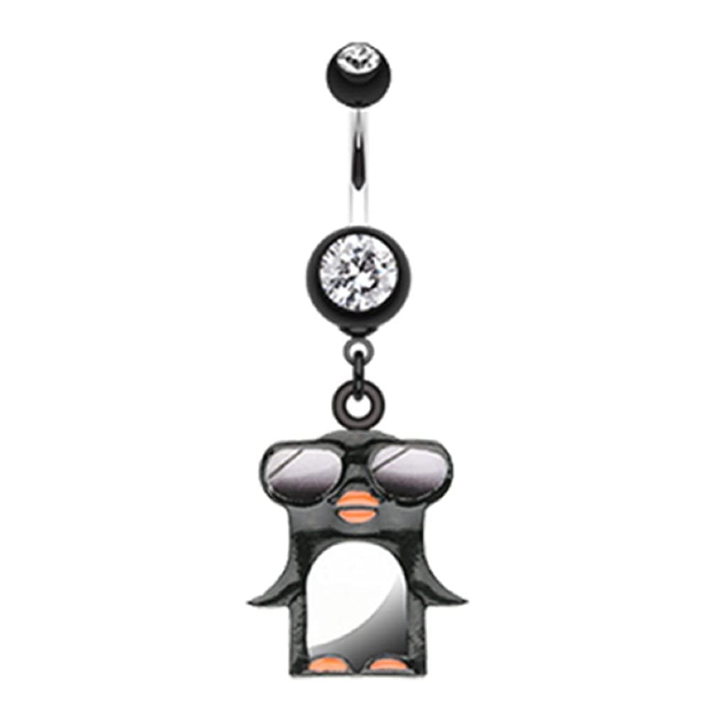 Penguin Swagg 316L Surgical Steel Freedom Fashion Belly Button Ring Sold Individually