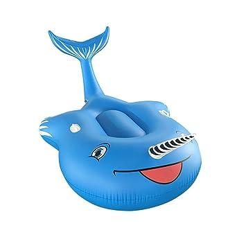 DMGF Flotador Inflable Piscina Lounger Ballena Flotadores Con Manijas Válvulas Rápidas Summer Outdoor Beach Party Juguetes Raft Niños Adultos: Amazon.es: ...