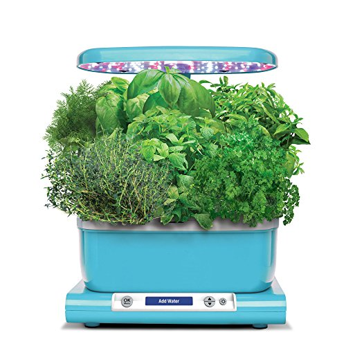 AeroGarden Harvest with Gourmet Herb Seed Pod Kit, Teal