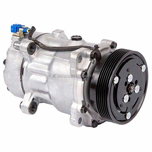 Volkswagen Passat Ac Compressor (New Premium Quality AC Compressor & A/C Clutch For VW Golf Jetta Passat Cabrio - BuyAutoParts 60-01298NA New)