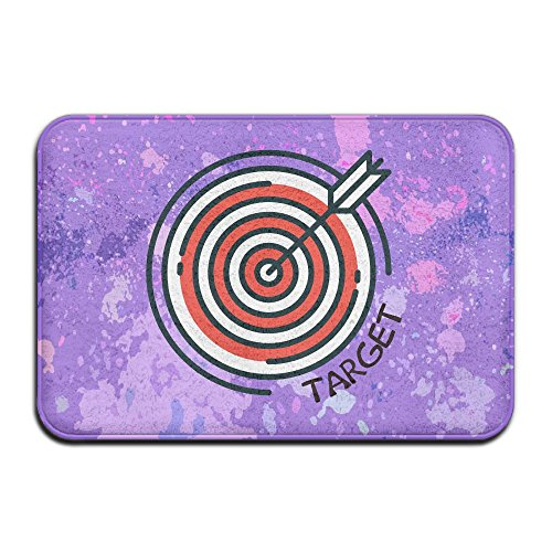 Archery Target Low Profile Indoor Outdoor Doormats Resists Stains Mats Non Slip Entry Rugs,16