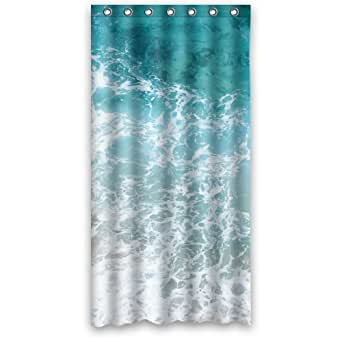 funny shower curtain water polyester fabric waterproof shower curtains 36 x 72. Black Bedroom Furniture Sets. Home Design Ideas
