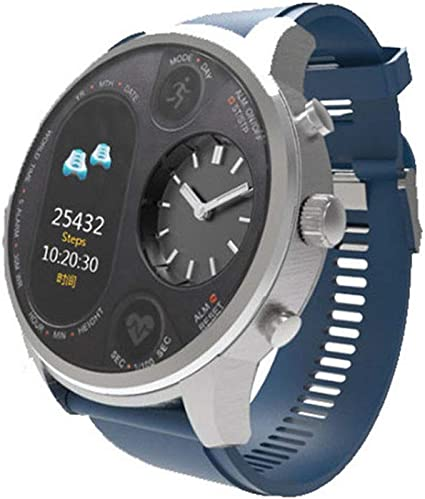 Amazon.com: CCDYLQ Reloj inteligente IPS de doble hora para ...