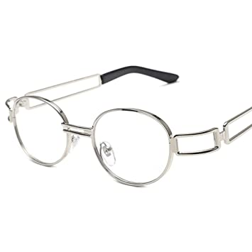 Gafas de Sol ovaladas clásicas. Hombres y Mujeres Usan Gafas ...