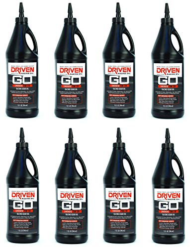 DRIVEN Joe Gibbs Racing Oil 00630 75W-110 Synthetic Gear Oil - 1 Quart Bottle (8)