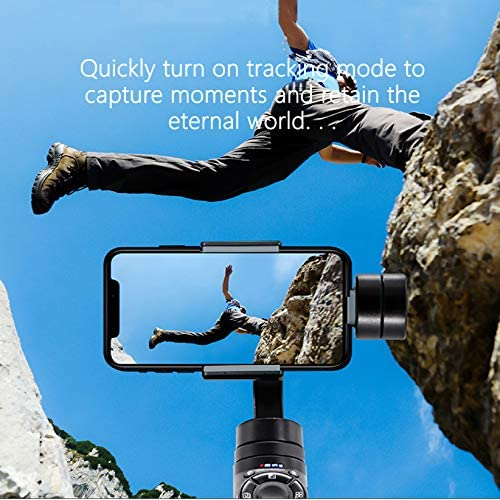 Axis Stabilizer Handheld Gimbal for iPhone Smartphone Vlog Youtuber Live Video Record with Sport Inception Mode Face Object Tracking Motion Time-Lapse Nastone EIMANKE 3
