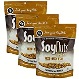 Love Your Health Honey Toasted Soy Nuts – Protein Rich Soy Nuts – Dry Roasted, Non-GMO, Gluten-Free Healthy Snacks – Soy Protein Snacks for Men & Women – Natural Honey Glazed Soy Nut Pack – 3 Pack For Sale