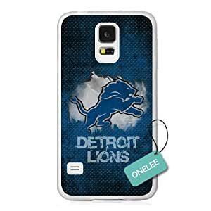 NFL Team Logo For Case Iphone 6Plus 5.5inch Cover - Custom Personalized Detroit Lions Hard Plastic For Case Iphone 6Plus 5.5inch Cover - T5