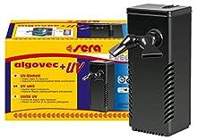 Sera algovec UV - Innovadora Unidad UV-C con 5 W, eliminador de Algas, Reduce gérmenes, parásitos y Algas de Forma física en acuarios de hasta 100 litros