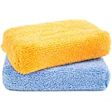 Zwipes Microfiber Kitchen Cleaning Sponges, 2 Count
