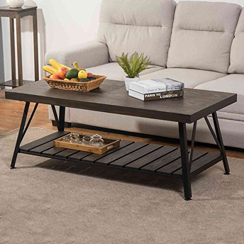 Metal Antique Coffee Table - 6