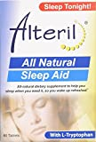Alteril All Natural Sleep Aid Tablets 60 Count Per Pack (5 Packs)