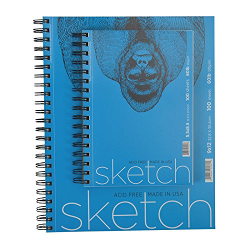 Value Combo (Global Art Materials Sketch Pad (Value Combo Pack), 9