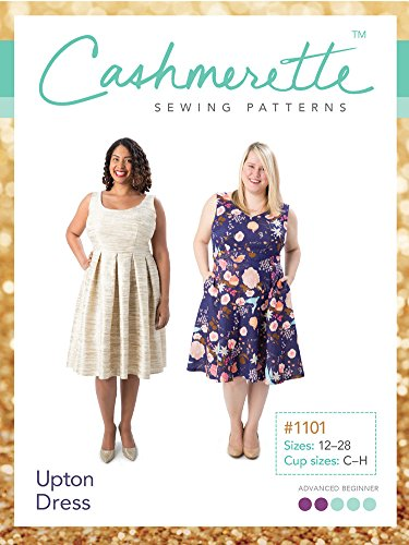 Upton Cashmerette Sewing Pattern: Amazon.co.uk: Kitchen & Home