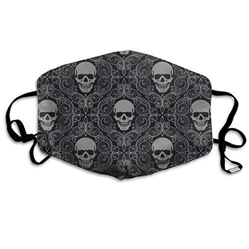 Fashion Cool Skull Patter.jpg Face Masks Breathable Dust Filter Masks Mouth Cover Masks Elastic Ear -