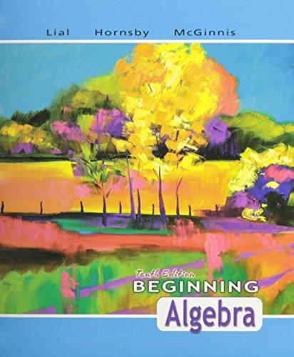 Beginning Algebra, a La Carte Plus (10th Edition)