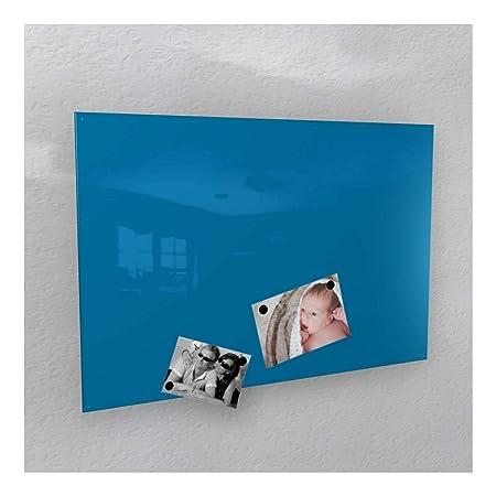 Colours-Manufaktur Magnetwand - Himmel-blau glänzend * RAL 5015 * Hochglanz - 4 Verschiedene Größen - 40 x 60 cm ; 50 x 80 cm