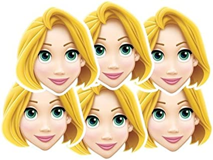 Disney Princess Party Rapunzel Face Mask