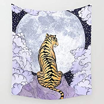 Authentic India Tiger Tapestry