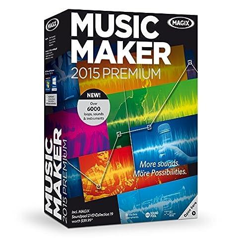 MAGIX Music Maker 2015 Premium (Magix Studio Software)