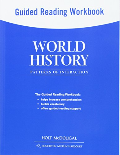 World History: Patterns of Interaction: Guided Reading Workbook Survey