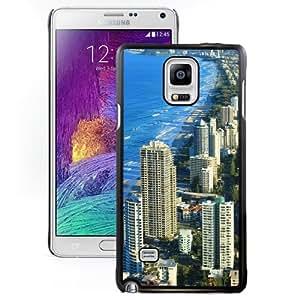 New Beautiful Custom Designed Cover Case For Samsung Galaxy Note 4 N910A N910T N910P N910V N910R4 With Gold Coast Australia World Phone Case