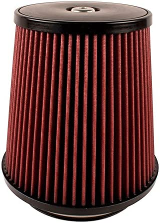 Top 152 mm Height; 6 Inch 89 mm Base; 4.625 Inch Airaid 700-420 Universal Clamp-On Air Filter: Round Tapered; 3.5 Inch 117 mm Flange ID; 9 Inch 229 mm