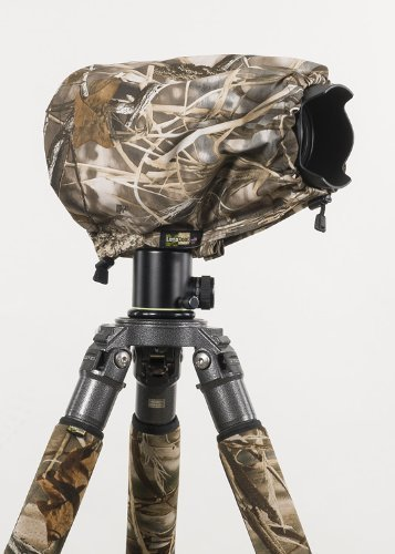 LensCoat LCRSMM4 RainCoat RS for Camera and Lens, Medium (Realtree Max4 HD) by LensCoat