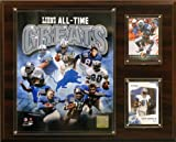 NFL Detroit Lions All -Time Great Photo Plaque