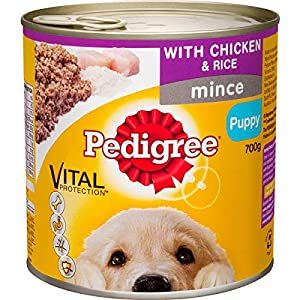 Pedigree Puppy Loaf with Chicken & Rice Wet Dog Food Can 700g Click on image for further info.