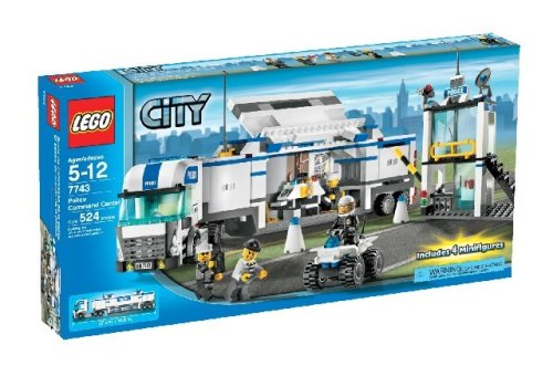 LEGO City Police Command Center 7743 (Quad Lego Bike)
