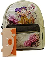 Disney Dopey Travel Soft Backpack Casual for Women Girl