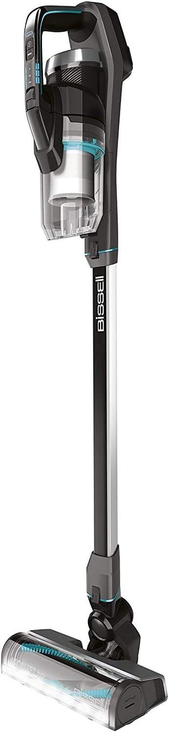 BISSELL 2602N Icon-Aspiradora sin Cable Potente, 0.4 litros, 81 Decibelios, 3 Velocidades, negro y azul: Amazon.es: Hogar