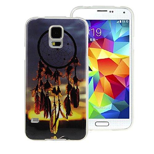 Vovotrade(TM) Dream catcher Soft Rubber Case For Samsung Galaxy S5 I9600
