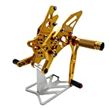 KEMIMOTO R3 Rear Sets Adjustable Rearsets for Yamaha YZF-R3 YZF-R25 2014 2015 2016 2017