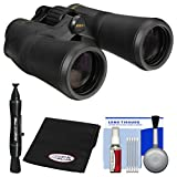 Nikon Aculon A211 10x50 Binoculars with Case with FogKlear Cloth + Lens Pen + Cleaning Kit