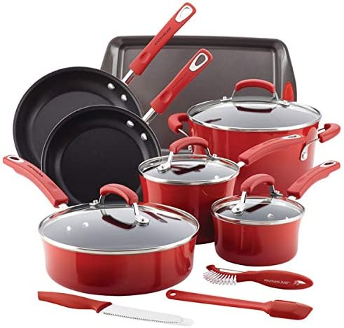 Rachael Ray 14 pc Nonstick Cookware product image