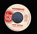 BOOMERANG / TO BE OR NOT TO BE by Otis Leavill Blue Rock 45 RPM Promotional Promo